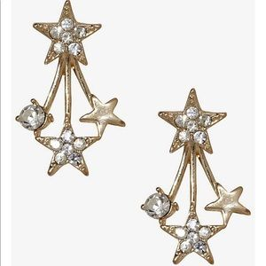 Stars earrings from Express